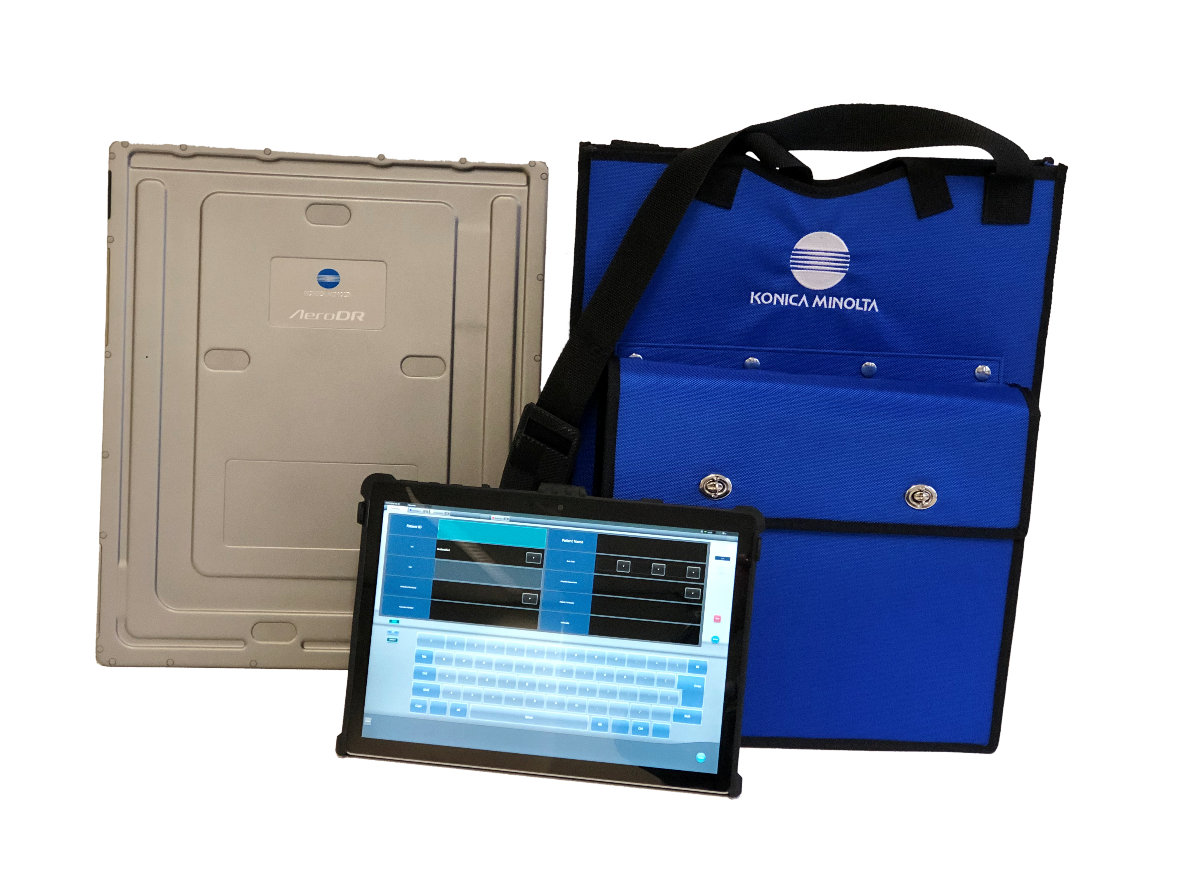 AeroDR Portable_Blue Bag